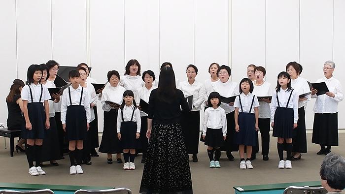 2017年4月30日 坂出ジュニア合唱団 ギャラリーコンサート